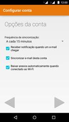 Como configurar seu celular para receber e enviar e-mails - Motorola Moto G (2ª Geração) - Passo 19