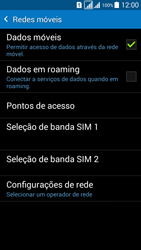 Como ativar e desativar uma rede de dados - Samsung Galaxy Grand Prime - Passo 5