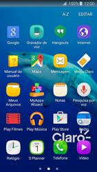 O celular não recebe chamadas - Samsung Galaxy J2 Duos - Passo 12