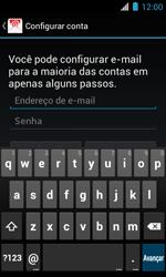 Como configurar seu celular para receber e enviar e-mails - Motorola Primus Ferrari - Passo 5
