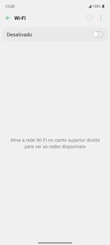Como configurar uma rede Wi-Fi - LG K62 - Passo 5