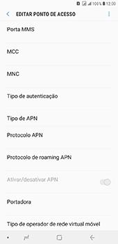 Como configurar a internet do seu aparelho (APN) - Samsung Galaxy J8 - Passo 12