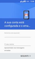 Como configurar seu celular para receber e enviar e-mails - Alcatel Pixi 4 - Passo 14