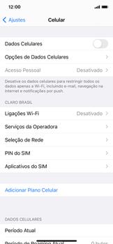 Como ativar e desativar uma rede de dados - Apple iPhone 11 Pro - Passo 4