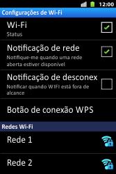 Como configurar uma rede Wi-Fi - Huawei U8667 - Passo 6