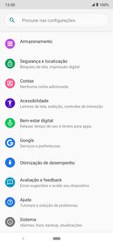 Como encontrar o número de IMEI do seu aparelho - Motorola Moto E6 Plus - Passo 3
