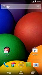 Como configurar a internet do seu aparelho (APN) - Motorola Moto E (1ª Geração) - Passo 1