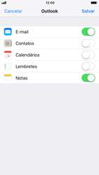 Como configurar seu celular para receber e enviar e-mails - Apple iPhone 7 - Passo 8