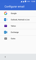 Como configurar seu celular para receber e enviar e-mails - Alcatel Pixi 4 - Passo 7
