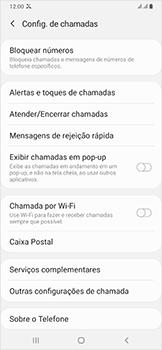 Como bloquear chamadas de um número específico - Samsung Galaxy A50 - Passo 7