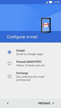 Como configurar seu celular para receber e enviar e-mails - Asus ZenFone Go - Passo 9