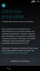 Como ativar seu aparelho - Motorola Moto E (1ª Geração) - Passo 5