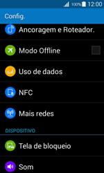 Como ativar e desativar uma rede de dados - Samsung Galaxy Ace 4 - Passo 3