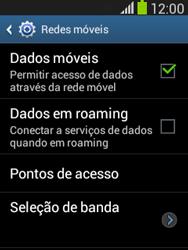 Como configurar a internet do seu aparelho (APN) - Samsung Galaxy Pocket - Passo 5
