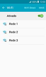 Como configurar uma rede Wi-Fi - Samsung Galaxy J1 - Passo 5
