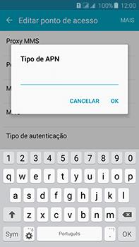 Como configurar a internet do seu aparelho (APN) - Samsung Galaxy J7 - Passo 14