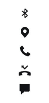 Explicação dos ícones - Samsung Galaxy S10 - Passo 13