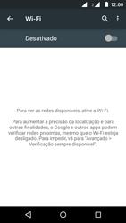 Como configurar uma rede Wi-Fi - Motorola Moto E (2ª Geração) - Passo 4