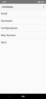 Como conectar à internet - Motorola Moto E6 Plus - Passo 17