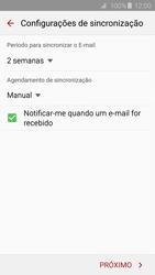 Como configurar seu celular para receber e enviar e-mails - Samsung Galaxy S6 - Passo 8