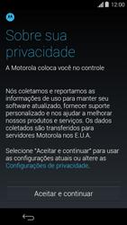 Como configurar pela primeira vez - Motorola Moto G (1ª Geração) - Passo 6