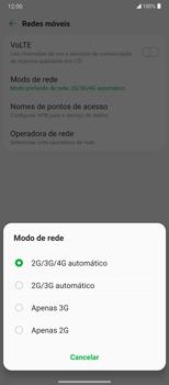 Como melhorar a velocidade da internet móvel - LG Velvet 5G - Passo 7