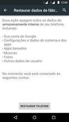 Como restaurar as configurações originais do seu aparelho - Motorola Moto G (2ª Geração) - Passo 6