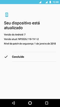 Como atualizar o software do seu aparelho - Motorola Moto Z2 Play - Passo 7