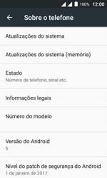 Como encontrar o número de IMEI do seu aparelho - Alcatel Pixi 4 - Passo 4