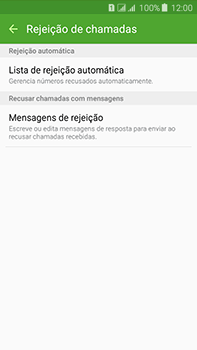 Como bloquear chamadas de um número específico - Samsung Galaxy J7 - Passo 7