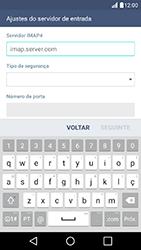 Como configurar seu celular para receber e enviar e-mails - LG K10 - Passo 9