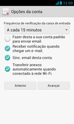 Como configurar seu celular para receber e enviar e-mails - Huawei Y340 - Passo 16