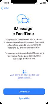 Como configurar pela primeira vez - Apple iPhone 11 Pro - Passo 20