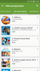 Como baixar aplicativos - Samsung Galaxy S7 Edge - Passo 11