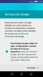 Como configurar seu celular para receber e enviar e-mails - Huawei Y6 - Passo 13