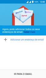 Como configurar seu celular para receber e enviar e-mails - Alcatel Pixi 4 - Passo 5
