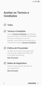 Como configurar pela primeira vez - Samsung Galaxy S9 - Passo 9