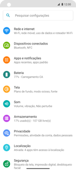 Como ativar e desativar uma rede de dados - Motorola Edge - Passo 3