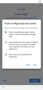 Como configurar pela primeira vez - Samsung Galaxy A10 - Passo 10