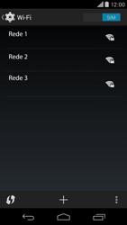 Como configurar uma rede Wi-Fi - Motorola Moto X (2ª Geração) - Passo 5