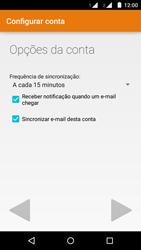 Como configurar seu celular para receber e enviar e-mails - Motorola Moto G (2ª Geração) - Passo 16