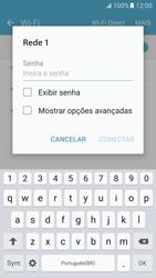 Como configurar uma rede Wi-Fi - Samsung Galaxy S7 - Passo 6