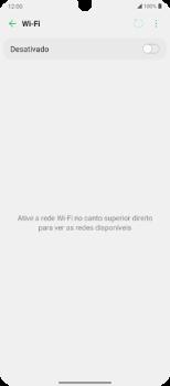 Como configurar uma rede Wi-Fi - LG Velvet 5G - Passo 5