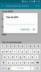 Como configurar a internet do seu aparelho (APN) - Samsung Galaxy J5 - Passo 14