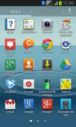 Como configurar seu celular para receber e enviar e-mails - Samsung Galaxy Win - Passo 3