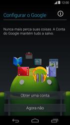 Como ativar seu aparelho - Motorola Moto E (1ª Geração) - Passo 7