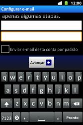 Como configurar seu celular para receber e enviar e-mails - Huawei U8667 - Passo 7