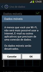 Como ativar e desativar uma rede de dados - Samsung Galaxy Grand Neo - Passo 5