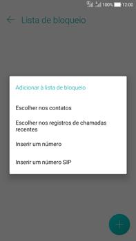 Como bloquear chamadas de um número específico - Asus Zenfone Selfie - Passo 9