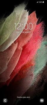 Como reiniciar o aparelho - Samsung Galaxy S21 Ultra 5G - Passo 4
